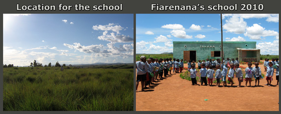 New community school in Fiarenana, Madagascar