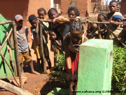 washing hands in Madagascar