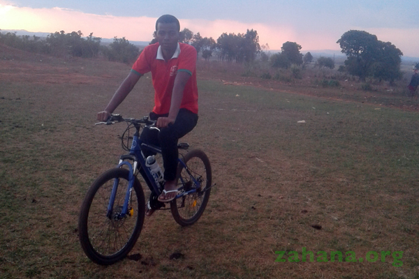 Bicyles bought by Zahana for our inmproved cookstove trainer team