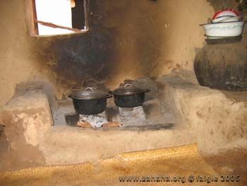 cookstoves in a kitchen in Fiadanana