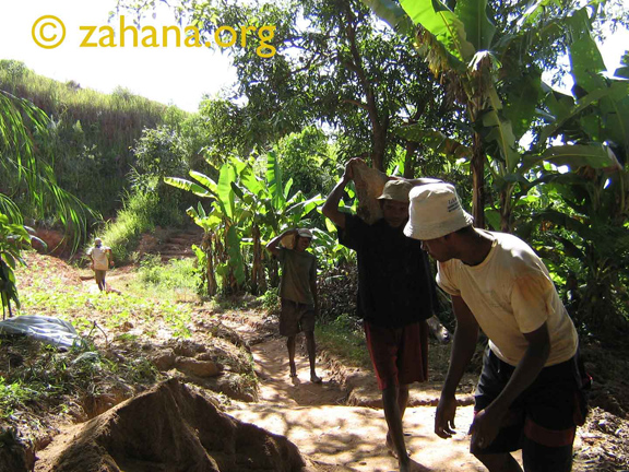 Rebuilding the well in Fiarenena madagascar from the ground up