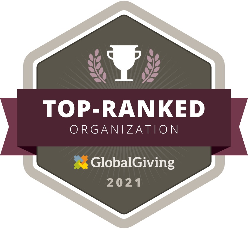 Tiop ranked by GlobalGiving 2020