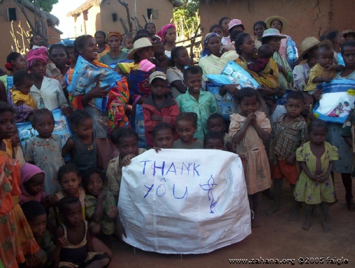 Thank you for the mosquito nets